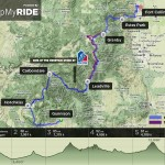 Ride the Rockies 2012 Route