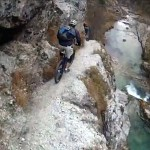 Riding-Mountain-Bikes-Down-The-Garnitzenklamm-Gorge